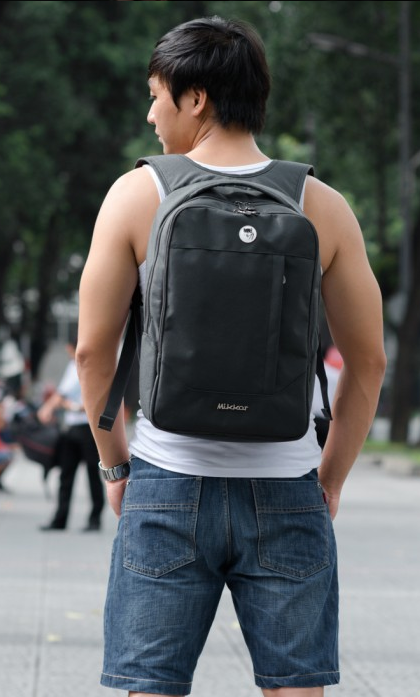 Balo Mikkor The Arthur Backpack (Màu Đen)