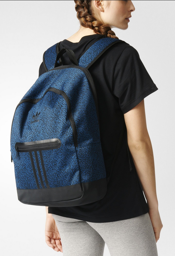 Balo Adidas Graphic Essentials Backpack (Màu Navy)